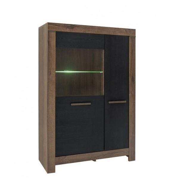 BRW BALIN REG1D1W vitrína sektorový nábytok