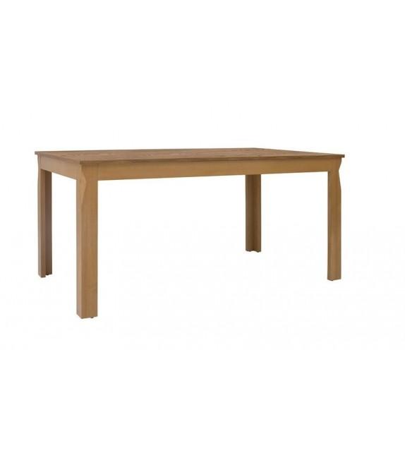 BRW BERGEN STO/160 Stôl jedálenský rozkladací sektorový nábytok