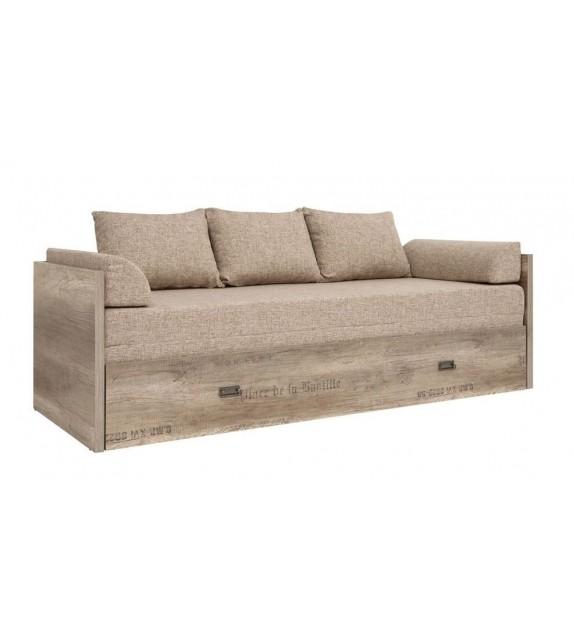 BRW MALCOLM LOZ/80/160 posteľ pohovka sektorový nábytok