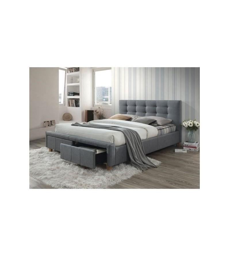abeb6d5af87bf BRW ASCOT manželská posteľ čalúnená 160