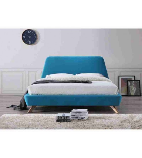 BRW GANT manželská posteľ moderná celočalúnená 160