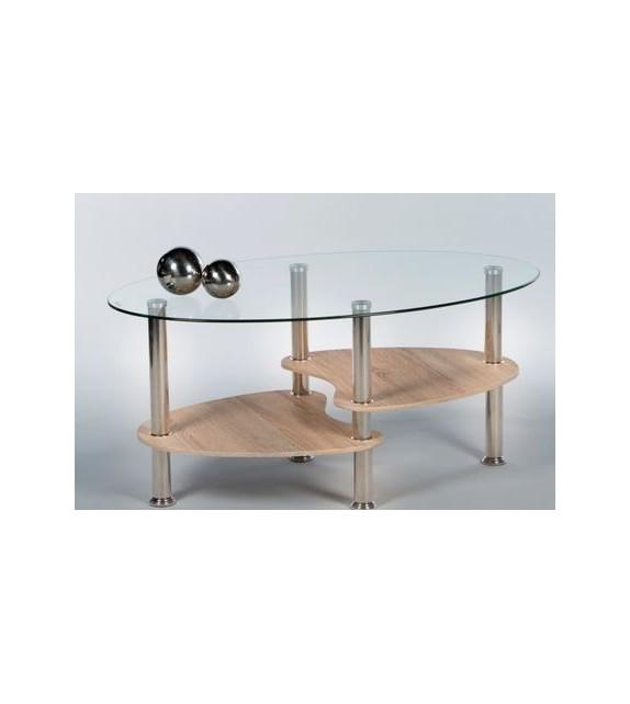 TK Konferenčný stolík sklenený PANTY NEW