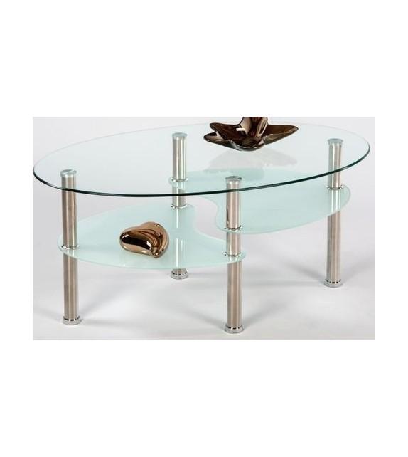 TK Konferenčný stolík sklenený WAVE NEW