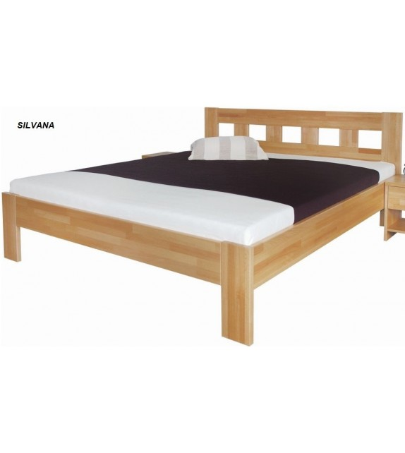 MRAVA SILVANA 160/180 buk masív manželská posteľ