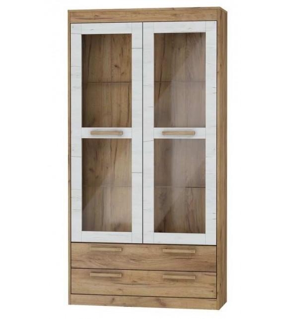 WIP MAXIMUS MXS-44 Vitrína 2S mat sektorový nábytok do obývačky