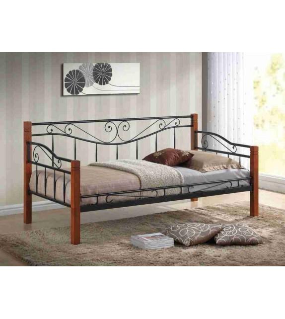 BRW KENIA 90 posteľ kovová s roštom
