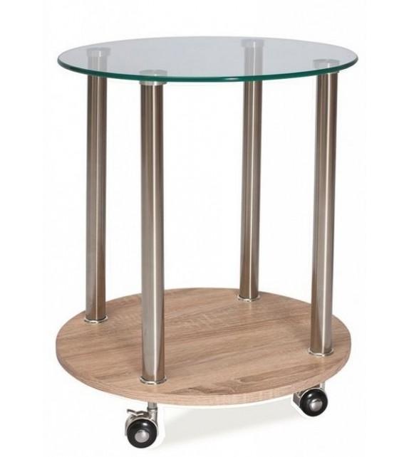 BRW CARLA príručný stolík