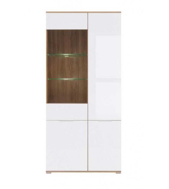 BRW ZELE REG1W3D vitrína sektorový nábytok