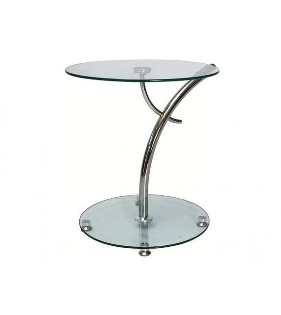 BRW MUNA Üveg kisasztal