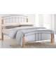 TK MIRELA 140 kovová manželská postel s lamelovým roštom