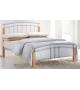 TK MIRELA 160 kovová manželská postel s lamelovým roštom