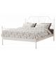 TK BEHEMOTH 140 kovová manželská postel s lamelovým roštom