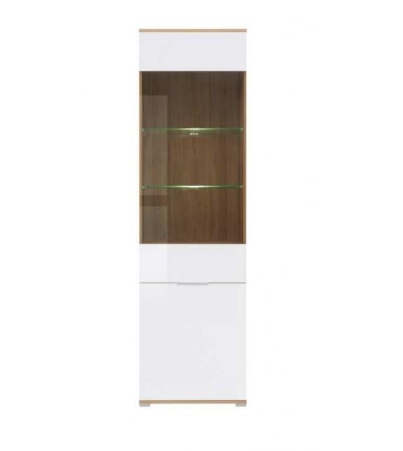 BRW ZELE REG1W1D vitrína sektorový nábytok