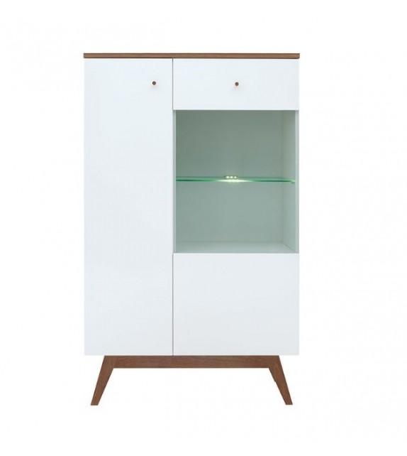 BRW HEDA REG1D1W vitrína sektorový nábytok