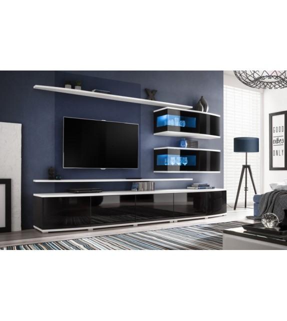 WIP SONIC obývacia stena s LED