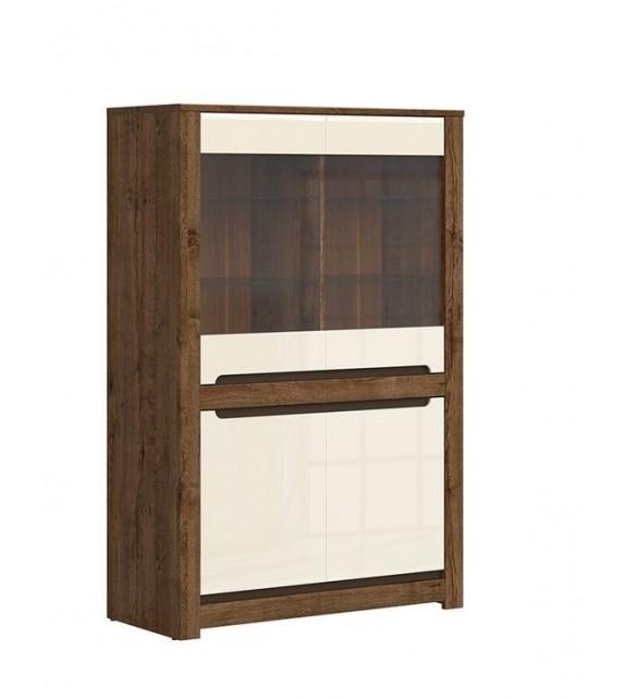 BRW RUSO REG2W2D vitrína nízka sektorový nábytok