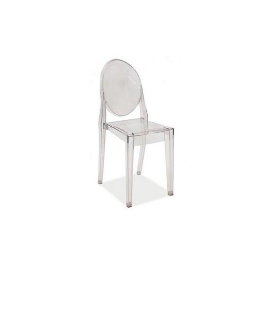 BRW MARTIN jedálenská stolička plast