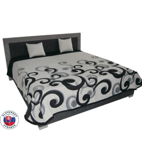 MITRU CHICAGO 180 manželská postel s dennou dekou