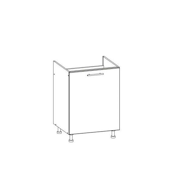 WIP TIFFANY T23/D60Z dolná kuchynská skrinka drezová sektor