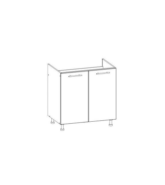 WIP TIFFANY T24/D80Z dolná kuchynská skrinka drezová sektor