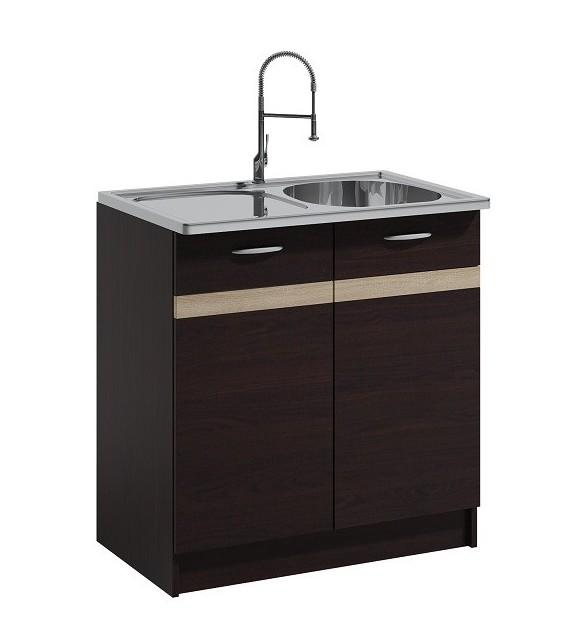 WIP LIVIA LV-09/D80Z alsó drezes konyha szekrény