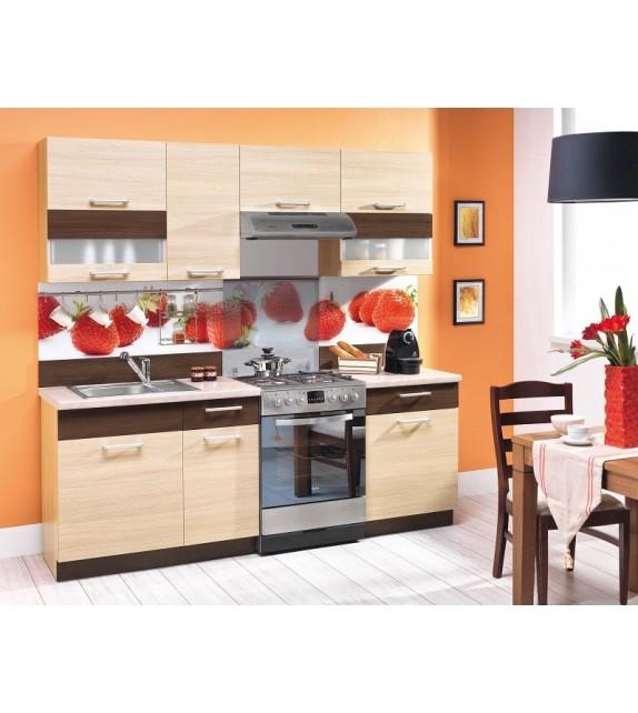 WIP MODENA TAFLA 160+60 MAT Kuchyňa s pracovnou doskou