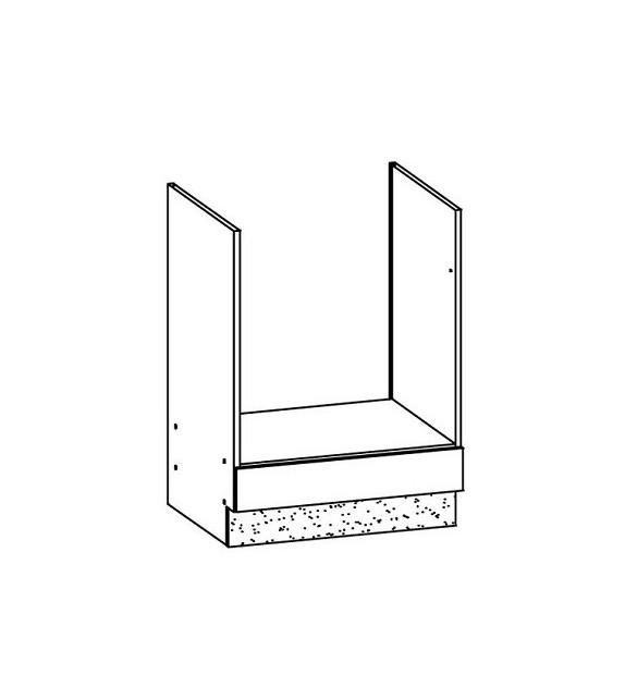 WIP MODENA TAFLA MD17/D60P kuchynská skrinka pre vstavaný spotrebič