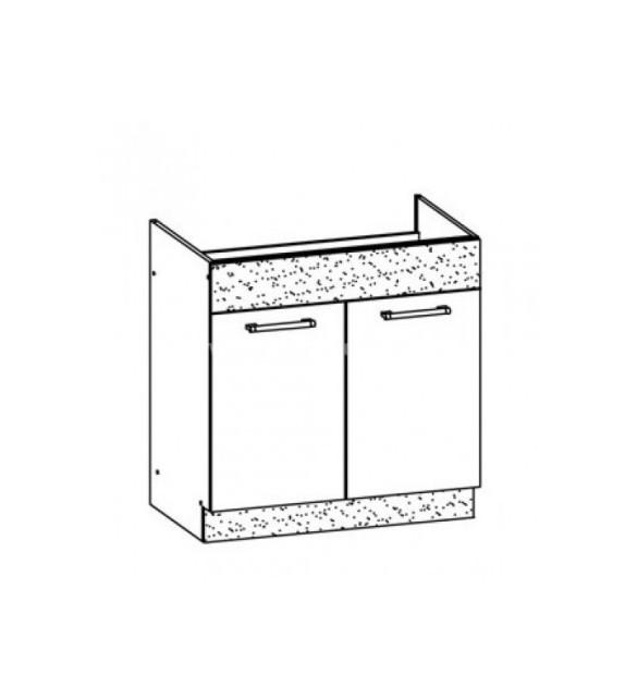 WIP MODENA TAFLA MD19/D80Z drezová kuchynská skrinka sektor