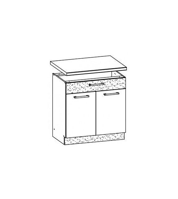 WIP MODENA TAFLA MD20/D80S1 dolná kuchynská skrinka