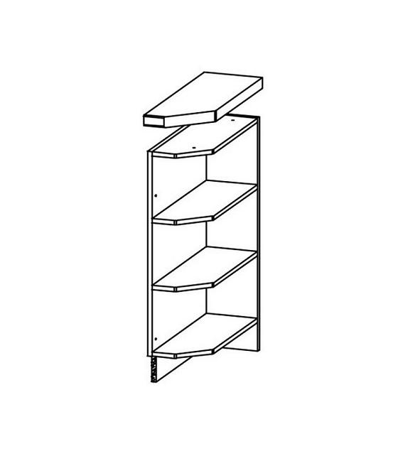 WIP MODENA TAFLA MD11/D20NZ L/P alsó konyha szekrény