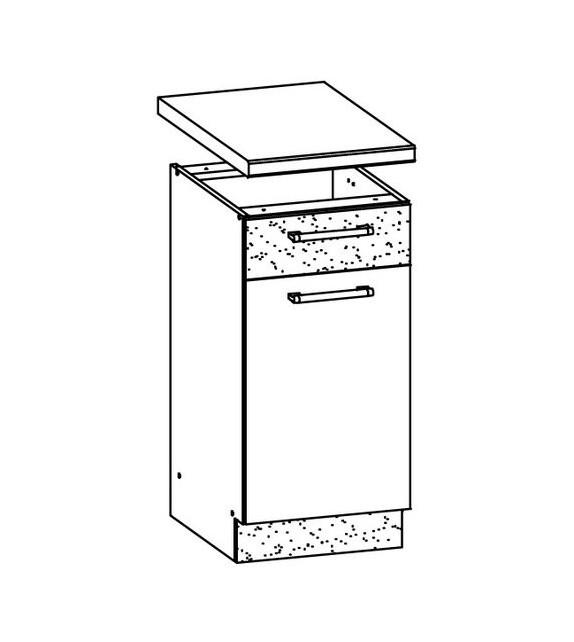 WIP MODENA TAFLA MD12/D30S1 dolná kuchynská skrinka sektor