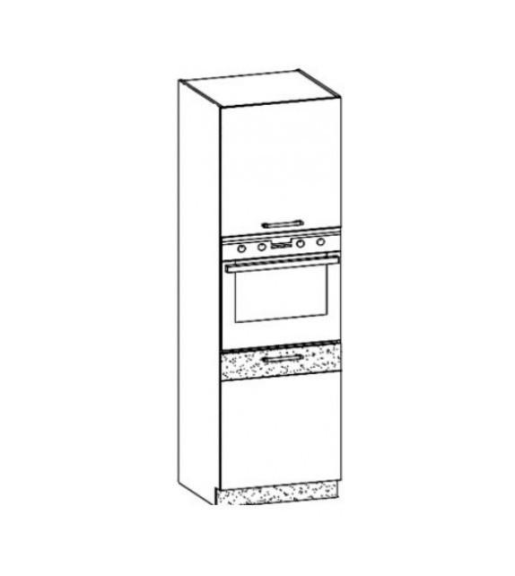 WIP MODENA TAFLA MD29/D60P L/P vysoká vstavaná kuchynská skrinka sektor