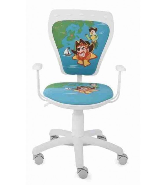 ELBYT MINISTYLE GTP + opierky GTP28 FIX detská stolička pirát