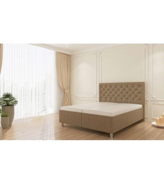 FLINE GOLD ELIZABET Luxusná manželská posteľ bez matraca 160