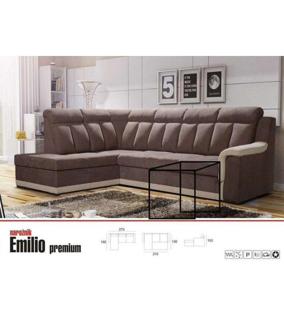 LUK Rohová sedacia súprava EMILIO premium