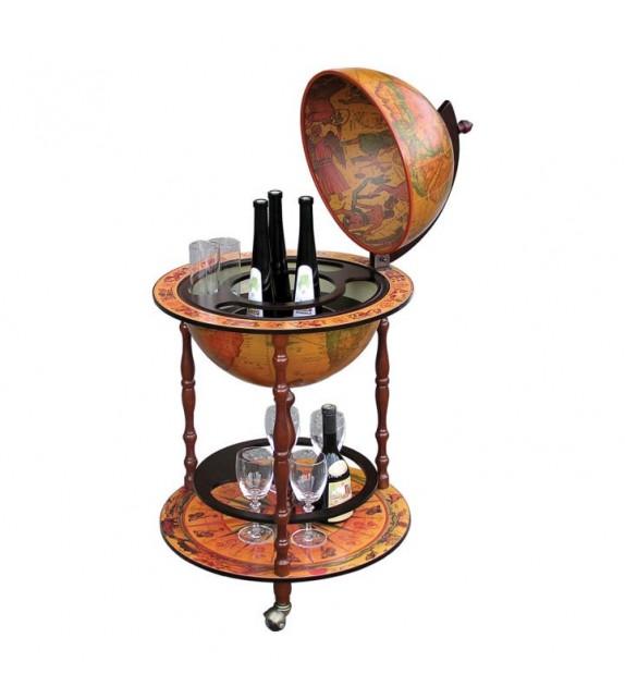 TK GLOBUS 2-324 42/E servírovací barový stolík
