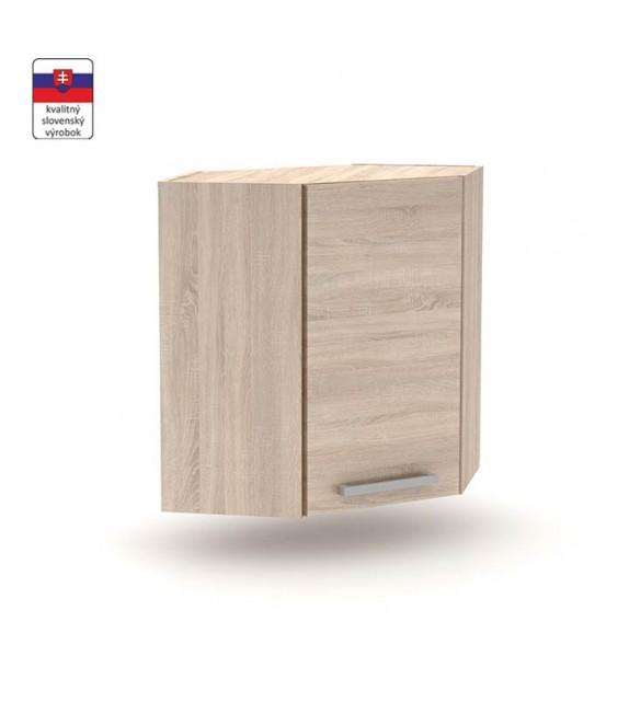 SKIP NOVAPLUS NOPL-013-RH kuchynská skrinka horná rohová 1-dverová