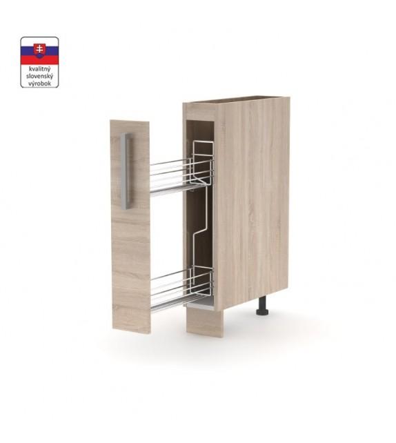 SKIP NOVAPLUS NOPL-066-VK kuchynská skrinka spodná 1-dverová, výsuvný kôš