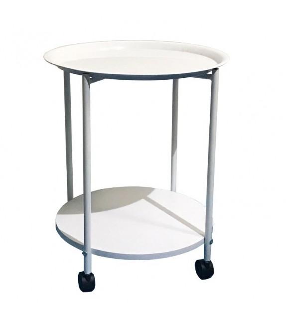 TK DERIN príručný stolík na kolieskach