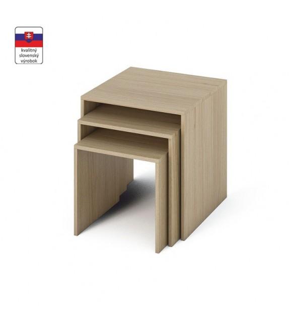 TK SIPANI konferenčný stolík 3v1 príručný stolík