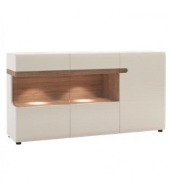 TK LYNATET 42 komoda vitrínová 3D sektorový nábytok