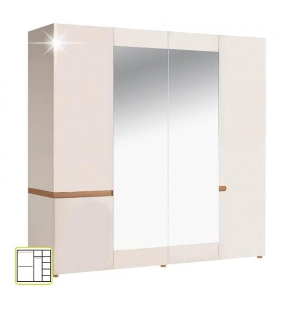 TK LYNATET 23 skriňa kombinovaná 4D sektorový nábytok