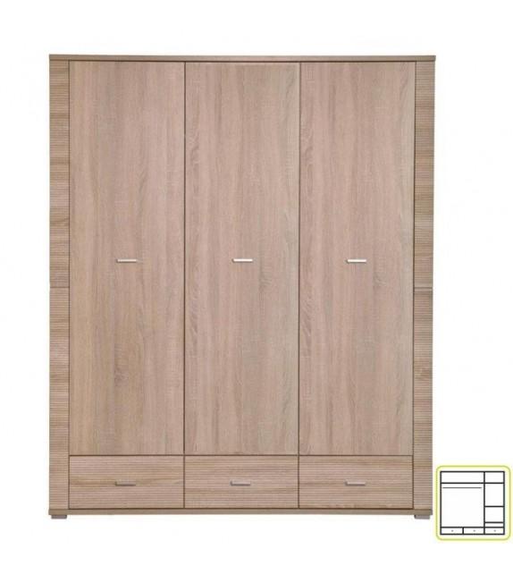 TK GRAND 01 skriňa kombinovaná sektorový nábytok