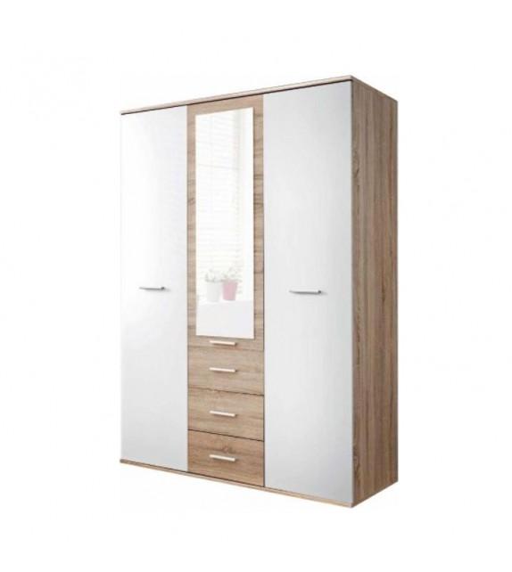 TK EMIO 01 skriňa kombinovaná biela detský sektorový nábytok