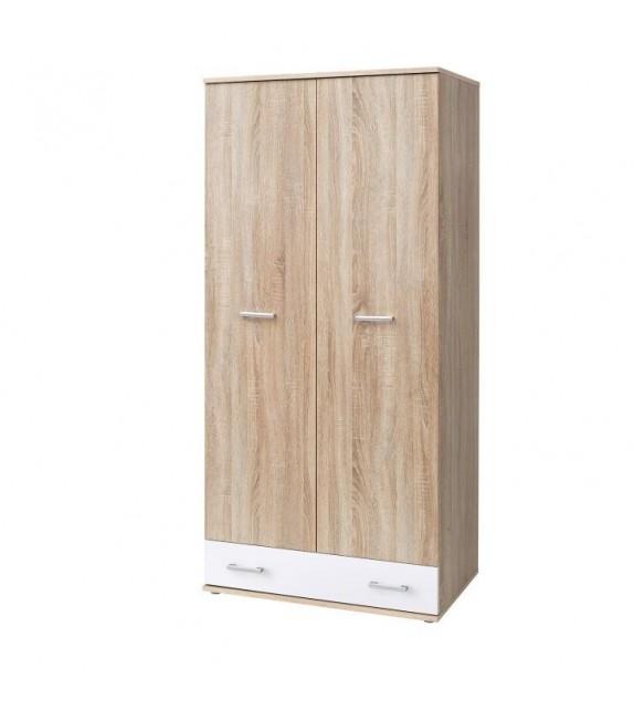 TK EMIO 02 skriňa kombinovaná biela detský sektorový nábytok