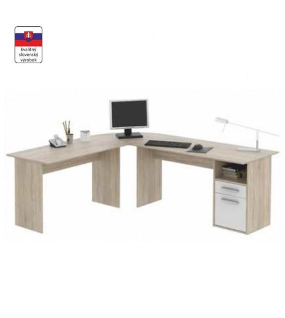 TK MAURUS NEW MA11 PC stol velký roh kancelársky nábytok