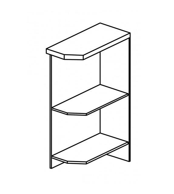 TK SICILIA D25PZ alsó nyitott szekrény