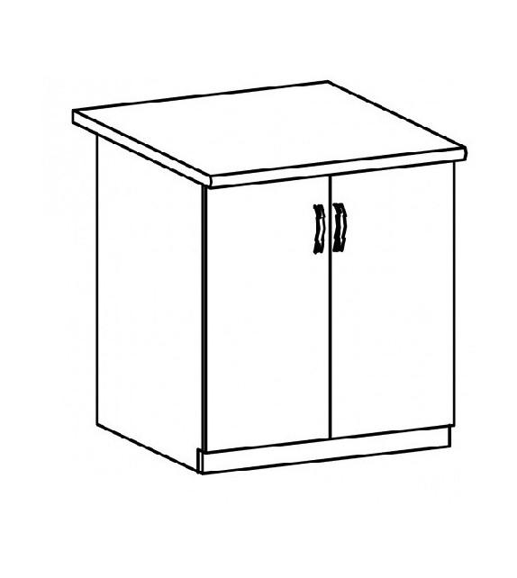 TK SICILIA D80 Alsó szekrény