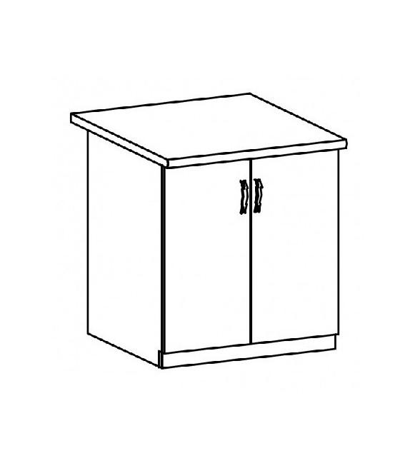 TK SICILIA D60 Alsó szekrény