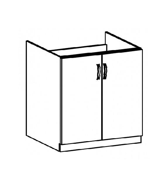 TK SICILIA D80Z Mosogatós szekrény
